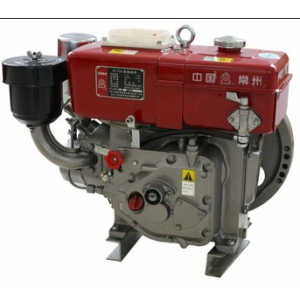 Двигатель дизельный S195 (1-цилиндр 15 л.с. водяное охлаждение)