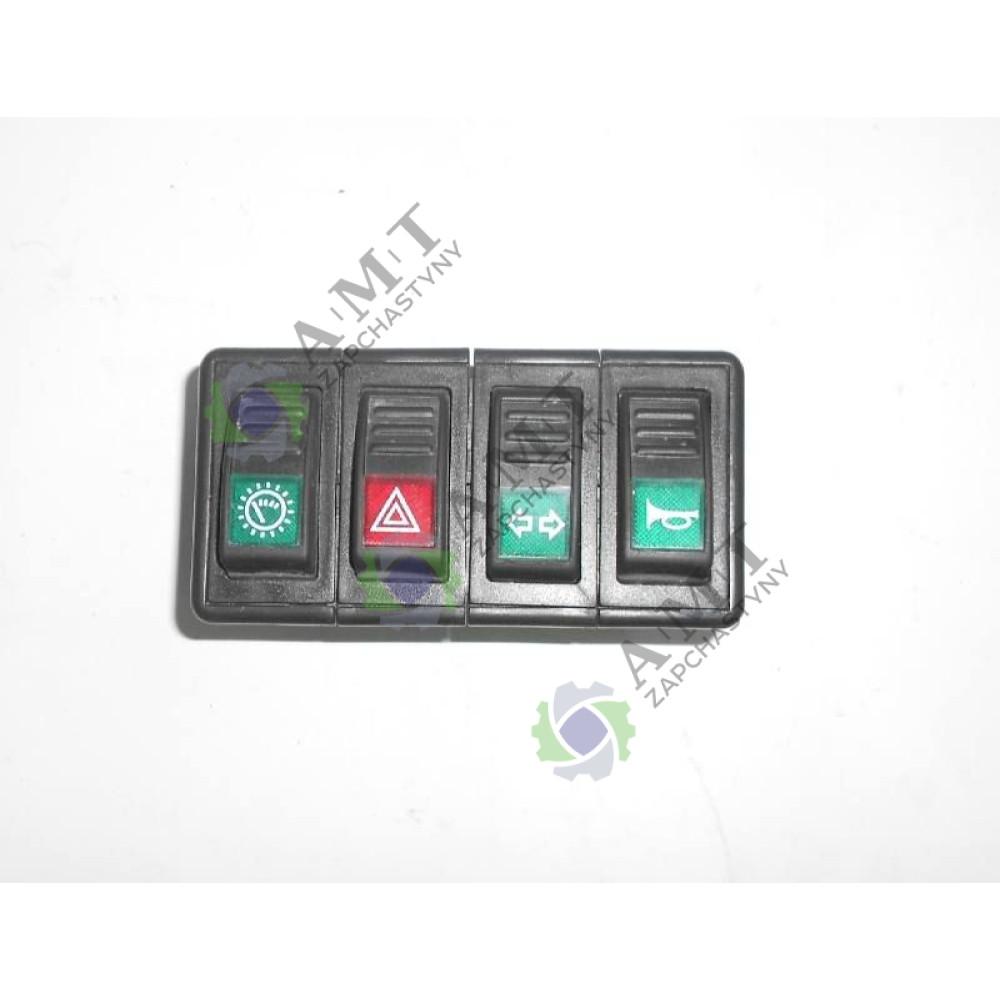 Блок переключателей 1 700-48-013  700-48-652 JM804