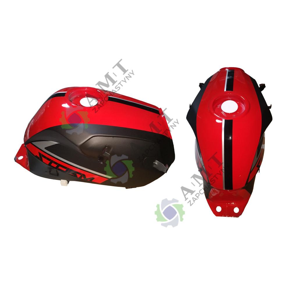 Бак топливный черно-красный SP200R-28